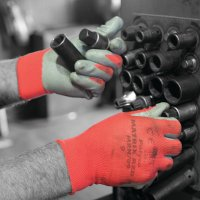 Polyco Matrix® Red Nitrile Coated Safety Gloves