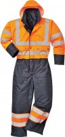 Portwest Lined Contrast Coverall