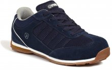 Sterling Navy Suede Retro Safety Trainer