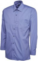 Uneek Mens LS Poplin Shirt
