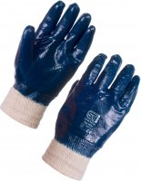 SuperTouch Nitrile Dipped Glove