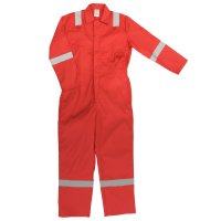 RED Coverall C/W Nordic Strips