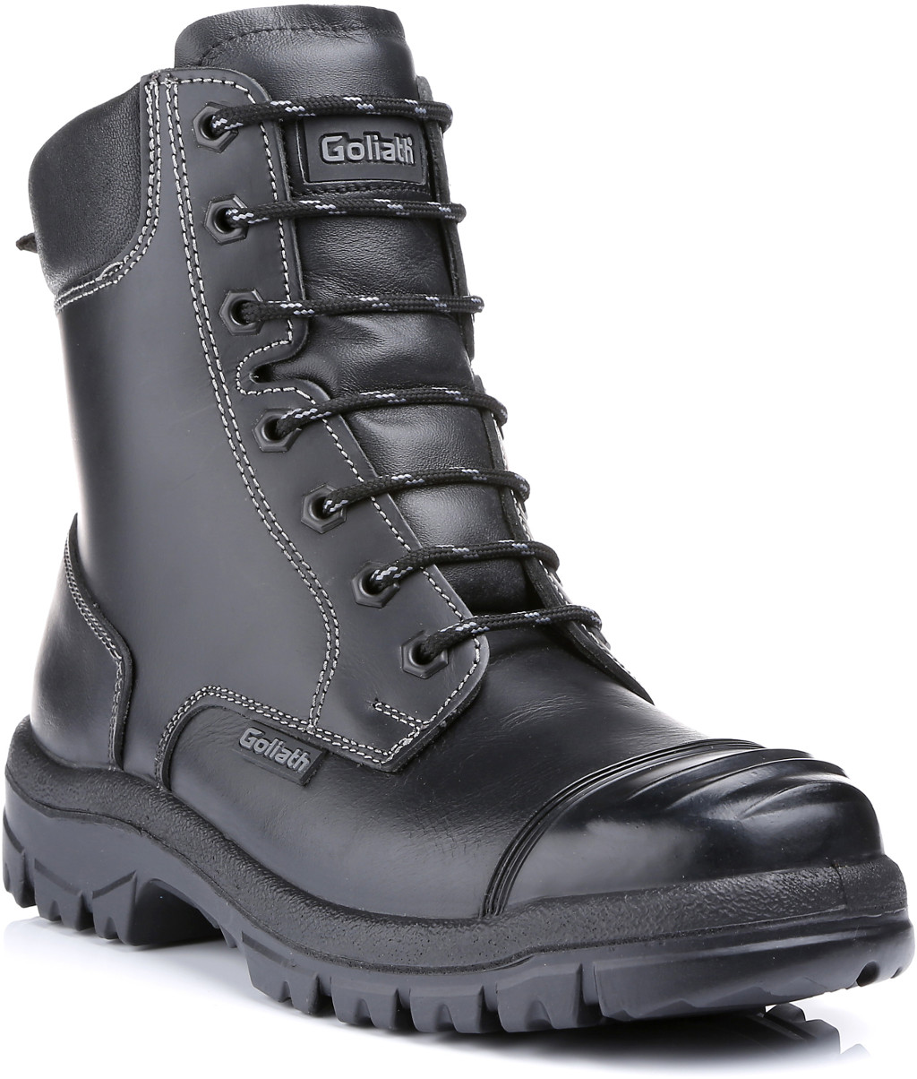 Goliath Groundmaster Safety Boot With Side Zip Gol601