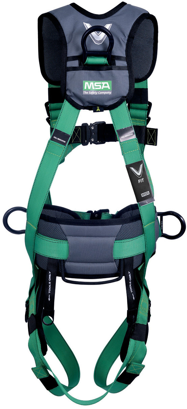 What Is A Chest Harness Ring Rated To